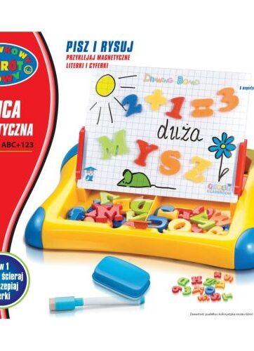 Zdjęcie Tablica edukacyjna magnetyczna Duża Mysz - producenta DROMADER
