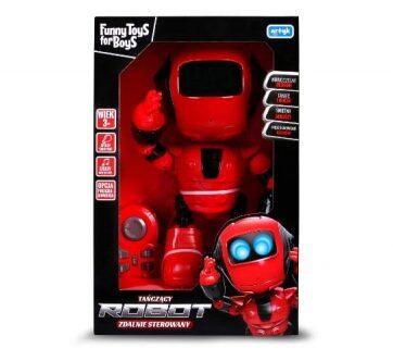 Zdjęcie Tańczący robot zdalnie sterowany Toys for Boys - producenta ARTYK
