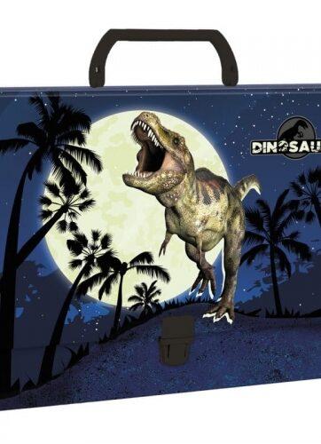 Zdjęcie Teczka twarda z rączką Dinozaur - Derform - producenta DERFORM