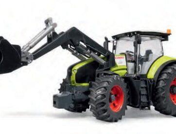 Zdjęcie Traktor Claas Axion 950 z ładowaczem czołowym BRUDER 03013 - producenta BRUDER