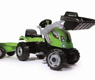 Zdjęcie Traktor Farmer MAX z przyczepką - Smoby - producenta SMOBY