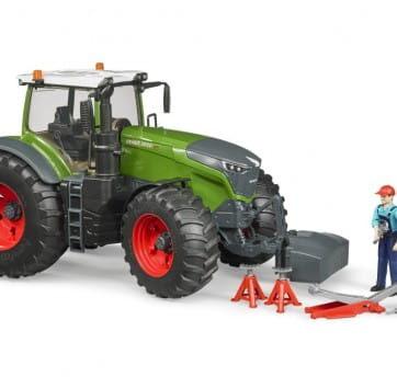 Zdjęcie Traktor Fendt 1050 Vario z figurką i akcesoriami Bruder 04041 - producenta BRUDER