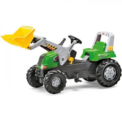 Zdjęcie Traktor Junior zielony z łyżką - producenta ROLLY TOYS