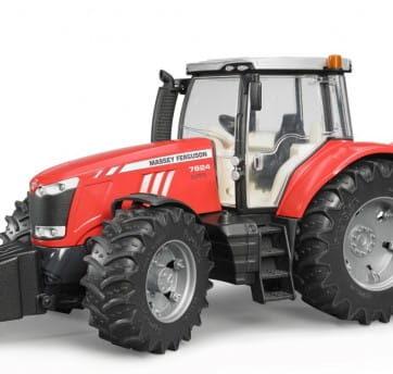 Zdjęcie Traktor Massey Ferguson Bruder 7624 - producenta BRUDER