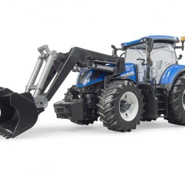 Zdjęcie Traktor New Holland T7.315 z ładowarką Bruder 03121 - producenta BRUDER
