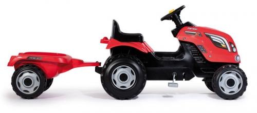Zdjęcie Traktor XL czerwony z przyczepką - Smoby - producenta SMOBY