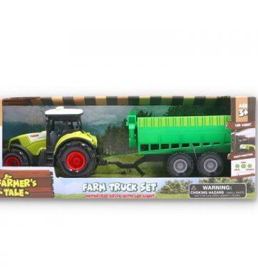 Zdjęcie Traktor farmer z maszyną rolniczą - producenta GAZELO