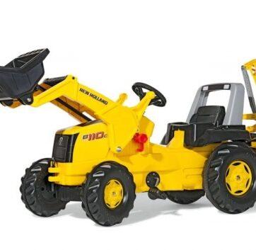 Zdjęcie Traktor na pedały Junior New Holland Construction - Rolly Toys - producenta ROLLY TOYS
