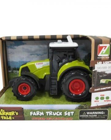 Zdjęcie Traktor z dźwiękiem i światłami w pudełku ASKATO - producenta ASKATO