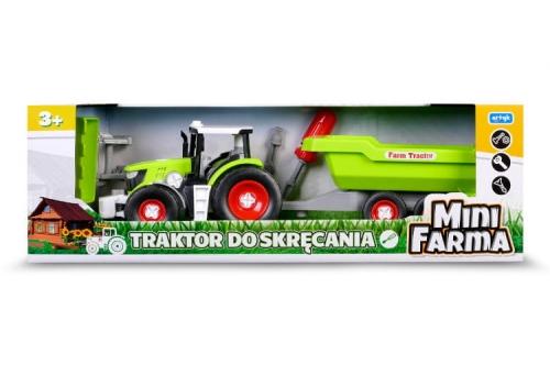 Zdjęcie Traktor z przyczepą do skręcania dla dzieci Mini Farma - producenta ARTYK