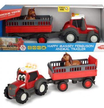 Zdjęcie Traktor z przyczepką dla zwierząt i figurką konia - producenta SIMBA