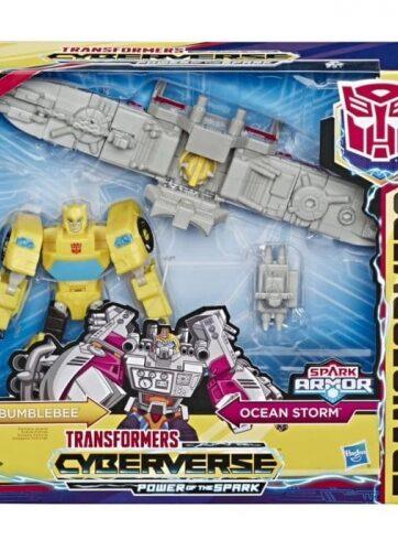 Zdjęcie Transformers Cyberverse - Spark Armor Bumblebee - producenta HASBRO