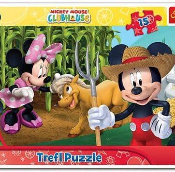 Zdjęcie Trefl Puzzle 15el ramkowe Na wsi - producenta TREFL