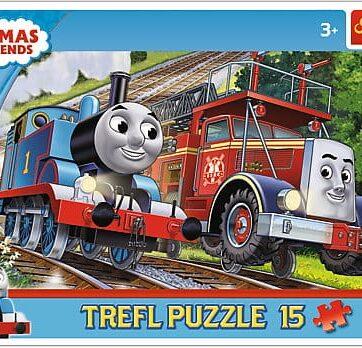 Zdjęcie Trefl Puzzle 15el ramkowe Tomek i Felek - producenta TREFL