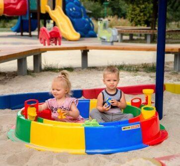 Zdjęcie Wader-Polesie piaskownica dla dzieci 136 cm - producenta POLESIE
