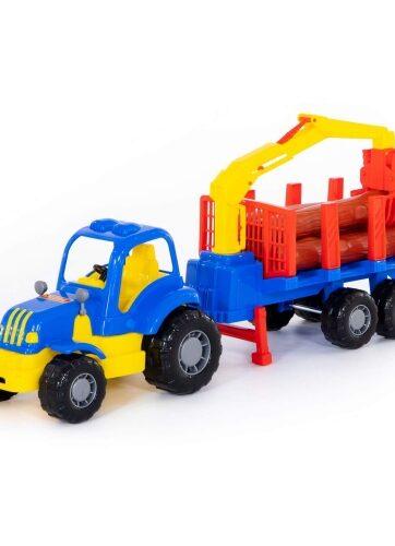 Zdjęcie Wader-Polesie traktor do przewozu dłużycy Osiłek - producenta POLESIE