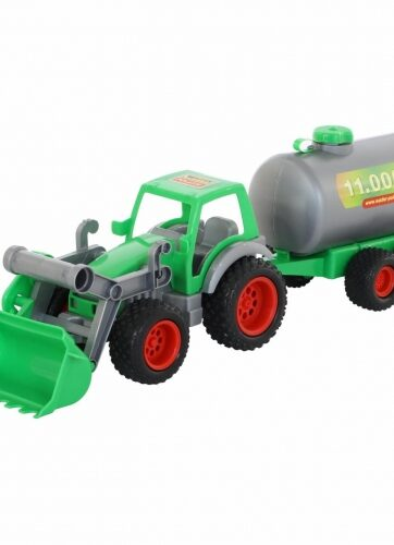 Zdjęcie Wader-Polesie traktor ładowarka z cysterną - producenta POLESIE