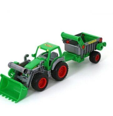 Zdjęcie Wader-Polesie traktor ładowarka z naczepą Farmer Technik - producenta POLESIE