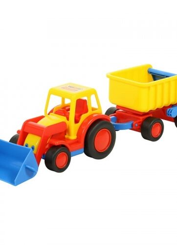 Zdjęcie Wader-Polesie traktor ładowarka z przyczepą Basics - producenta POLESIE