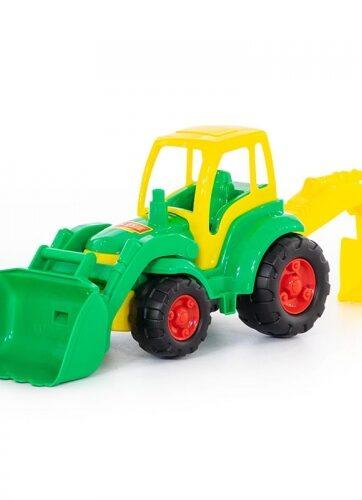 Zdjęcie Wader-Polesie traktor z łopatą i łyżką Mistrz - producenta POLESIE