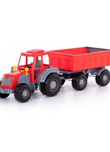 Zdjęcie Wader-Polesie traktor z przyczepą Master - producenta POLESIE