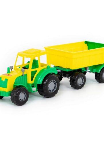 Zdjęcie Wader-Polesie traktor z przyczepą - producenta POLESIE