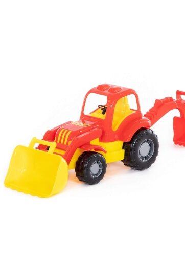 Zdjęcie Wader-Polesie traktor z przyczepą Siłacz - producenta POLESIE