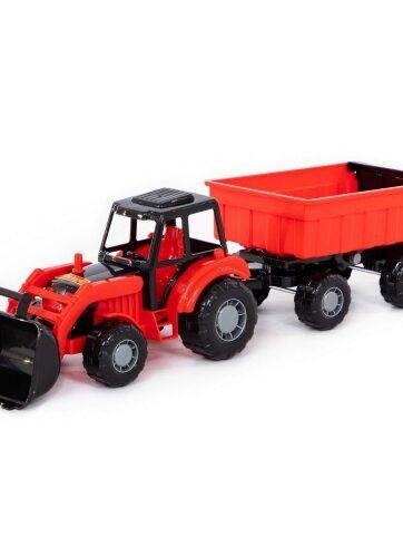Zdjęcie Wader-Polesie traktor z przyczepą i koparką - producenta POLESIE