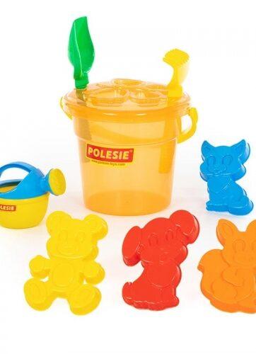 Zdjęcie Wader-Polesie zabawki do piasku wiaderko foremki - producenta POLESIE