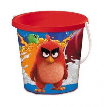 Zdjęcie Wiaderko do piaskownicy Angry Birds 17 cm - producenta MONDO