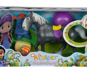 Zdjęcie Wissper Świat Natury - Koń z akcesoriami - Simba - producenta SIMBA