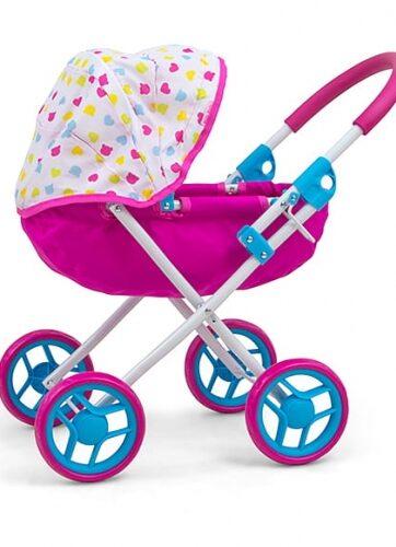 Zdjęcie Wózek dla lalek różowy Dori Candy - Milly Mally - producenta MILLY MALLY