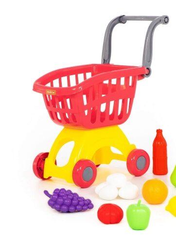 Zdjęcie Wózek do sklepu Mini + artykuły spożywcze - producenta POLESIE
