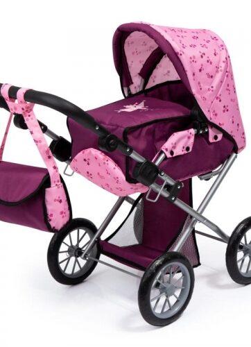 Zdjęcie Wózek głęboki dla lalki City Star różowy - producenta BAYER