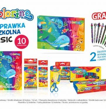 Zdjęcie Wyprawka szkolna BASIC 10 elementów Colorino Kids - producenta PATIO