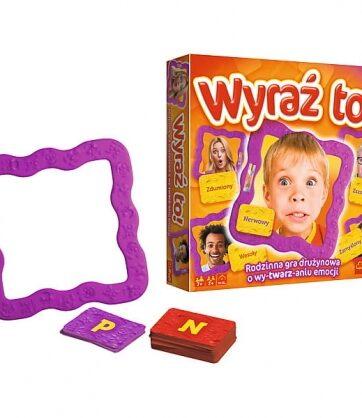 Zdjęcie Wyraź to! Rodzinna gra drużynowa o wy-twarz-aniu emocji - producenta TREFL