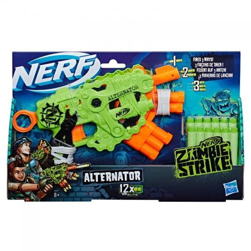 Zdjęcie Wyrzutnia NERF Zombie Alternator E6187 - producenta HASBRO