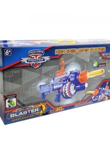 Zdjęcie Zabawkowy pistolet na piankowe strzałki 20 naboi + ładowarka - producenta NORIMPEX