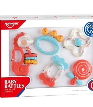Zdjęcie Zestaw 5 grzechotek dla niemowlaków - producenta ASKATO