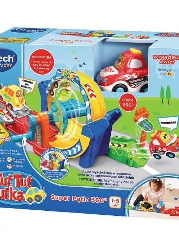 Zdjęcie Zestaw Super Pętla z autkiem 360 Tut Tut Autka - VTech - producenta VTECH