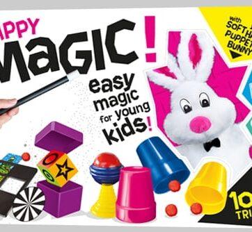 Zdjęcie Zestaw do magicznych sztuczek dla dzieci - Happy Magic CARTAMUNDI - producenta CARTAMUNDI