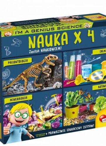 Zdjęcie Zestaw edukacyjny I'm a Genius Nauka x4 - producenta LISCIANI GIOCHI
