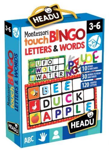 Zdjęcie Zestaw edukacyjny Montessori - Zabawa w bingo - Słowa i litery - producenta RUSSELL
