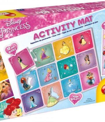 Zdjęcie Zestaw edukacyjny z księżniczkami Disneya z matą edukacyjną - producenta LISCIANI GIOCHI