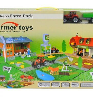 Zdjęcie Zestaw farma z traktorem - Adar - producenta ADAR