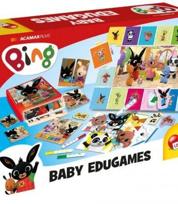 Zdjęcie Zestaw gier edukacyjnych Bing - producenta LISCIANI GIOCHI