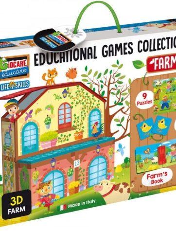 Zdjęcie Zestaw gier edukacyjnych - Farma Lisciani - producenta LISCIANI GIOCHI