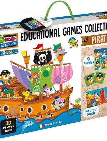 Zdjęcie Zestaw gier edukacyjnych - Piraci Lisciani - producenta LISCIANI GIOCHI