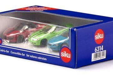 Zdjęcie Zestaw kabriolety SIKU 6314 - producenta SIKU