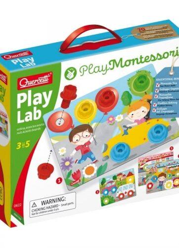 Zdjęcie Zestaw kreatywny Play Lab Montessori - producenta QUERCETTI